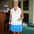 2011 golf Ladies drive winner Carole Andrews